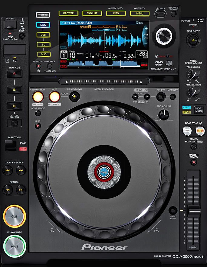Hire the latest DJ equipment for your gig in Edinburgh. Rent a pair of CdJ2000 nexus and DJM900 for the ultimate DJ setup.