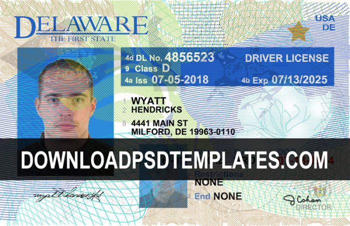 Fake Id Card Maker Online Driver License Psd Templates Download Psd Templates Drivers License Id Card Template Driving License