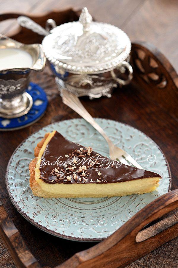 Tarte mit Crème pâtissière und Mascarpone – Tarte und Tartelettes