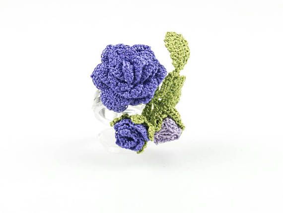 Check out this item in my Etsy shop https://www.etsy.com/listing/536428673/reserved-for-joanne-purple-rose-ring