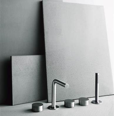 grifo-bañera-fantini-fukusawa que podrás encontrar en terraceramica.es #grifos #grifería #baños #diseño #arquitectura #terraceramica