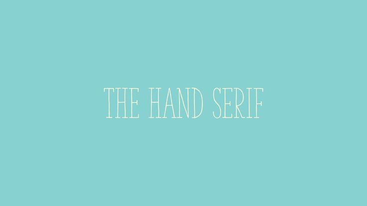 The Hand Serif   TDF The Designers Foundry