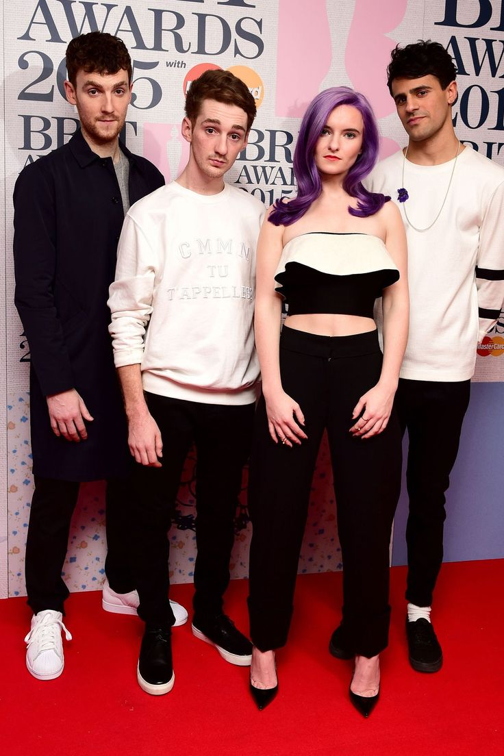 Grace Chatto from Clean Bandit wearing Issa Spring-Summer 2015 to the 2015 Brit Nominations Evening.