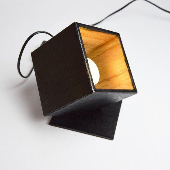 Little Wooden Design Spot Black Dodrogo Etsy Wooden Design Design Led Spot
