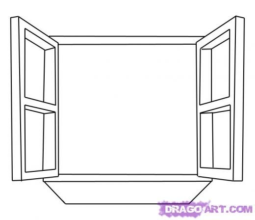 Drawing window google otsing drawings pinterest for Pages for windows