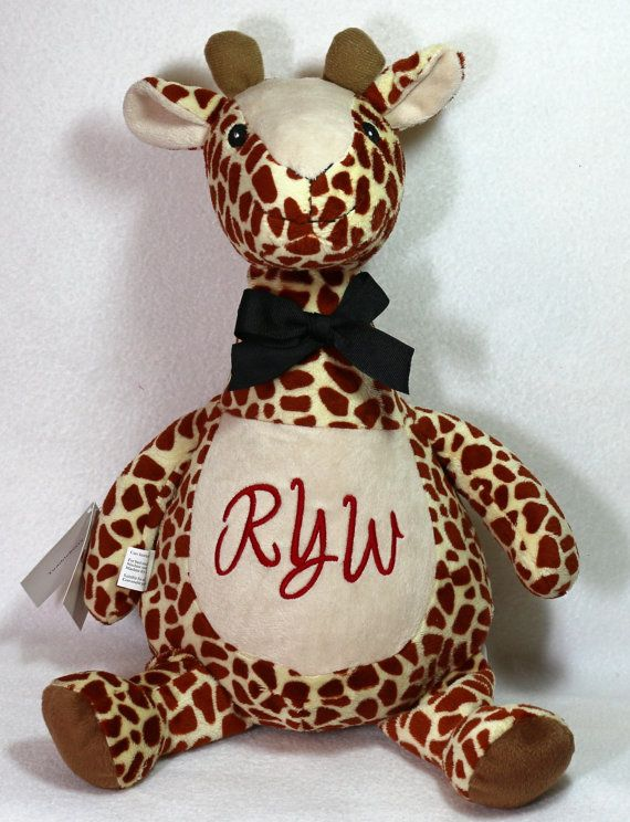 12 best personalized animals images on pinterest stuffed animals personalized baby gift baby cubbies stuffed by reneesembroidery 4200 negle Gallery