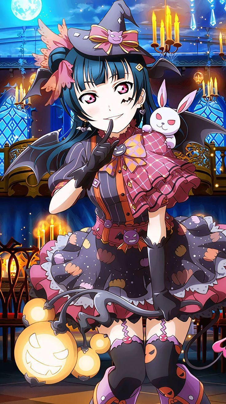 lovelive sunshine halloween