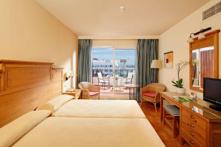 Habitación del Hotel Fuerte Conil - Costa Luz | #Spain #holiday