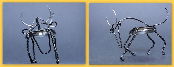 Taureau, toro, bull - Designed by Gilles Tonnelé - Prosecco Collalto - muselet, placomusophilie