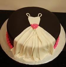 Dress cake for a bridal shower #bridalshower #dessert