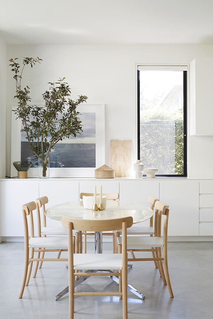 Interiors. White Dining RoomsModern ...