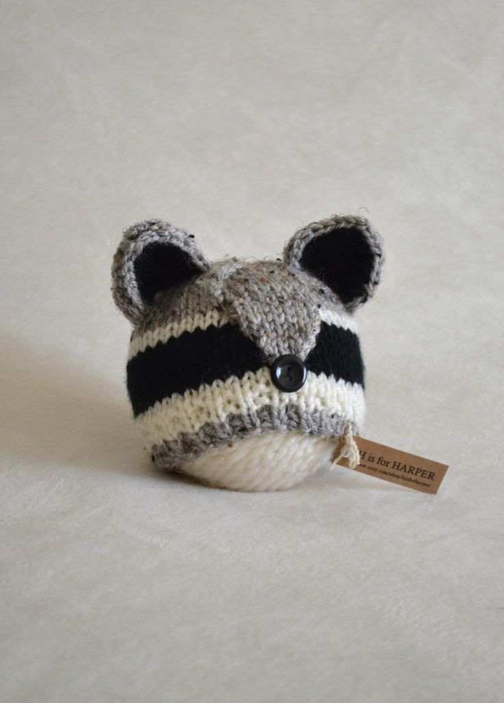 A personal favorite from my Etsy shop https://www.etsy.com/listing/229776193/raccoon-hat-baby-raccoon-hat-raccoon