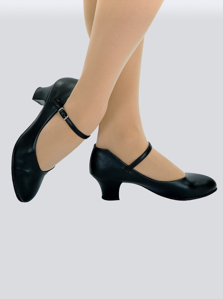"Free Shipping - ""Jr. Footlight"" Adult 1.5"" Heel Character Shoe by CAPEZIO"