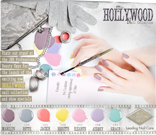 Bio Sculpture Spring colours - Hollywood collection