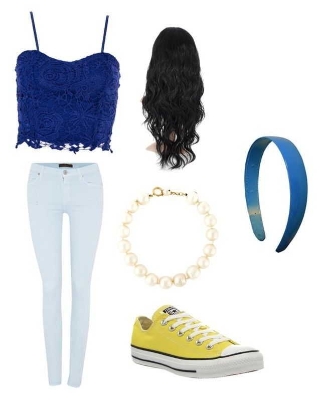 """""""Halloween- modern jasmine"""" by tohot4u on Polyvore featuring 7 For All Mankind, Converse, Chanel, Dorothy Perkins and modern"""