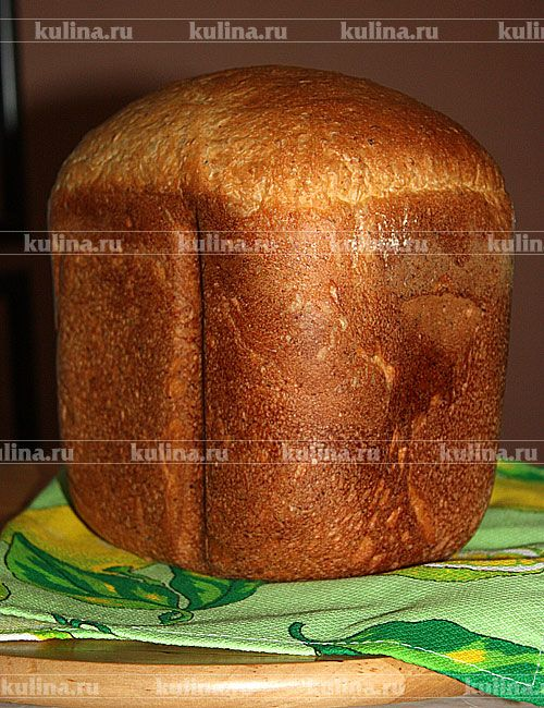 Хлеб с отрубями и чесноком
