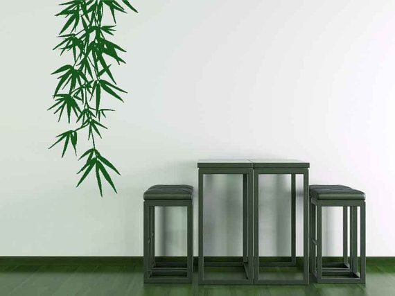 Best Bamboo Wall Decals Images On Pinterest Bamboo Wall Wall - Vinyl wall decals bamboo