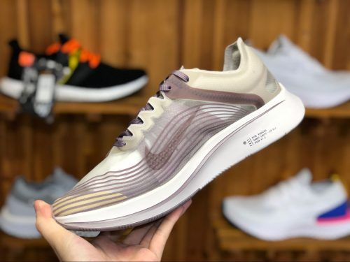 6aa5d5a49c04 Men s Nike Zoom Fly SP Chicago Taupe Grey Obsidian AA3172-200-3 ...