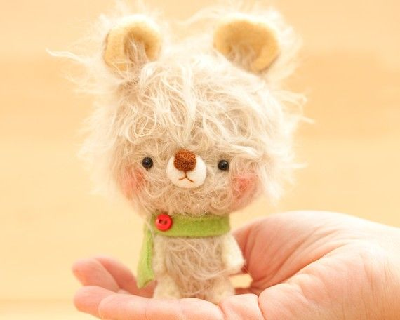 Bunny plush toy  made to order Dido by knittingdreams on Etsy