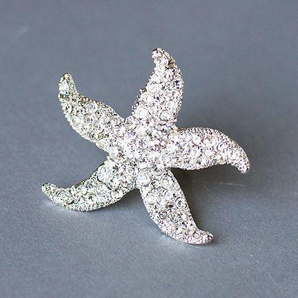 Rhinestone Bridal Ring Beach Wedding Jewelry Crystal by LXdesigns, $19.00
