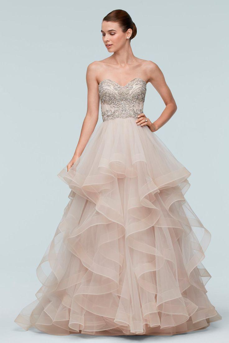 330 best dresses images on pinterest wedding dressses marriage watters brides meri wedding dress ombrellifo Image collections