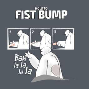 Hahahaha that's my style of first bump, that's exactly how I do it blow!!