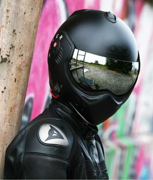 Hmmm future look while riding a motorcycle? :D