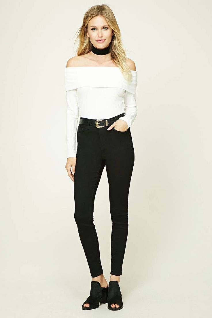 High-Rise Classic Skinny Jeans