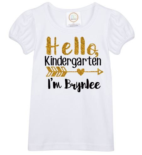 ** please convo me before ordering to guarantee delivery of your school shirt on time.**  Your sweet princess with be the cutest child in the classroom while wearing this darling shirt for her 1st day of school! Help make your little girls first day of school exciting by giving her a back to school shirt that is full of sparkles and sure to make her feel special. This 1st day of school shirt is available for preschool through 5th grade. To select the grade level for your shirt, please…