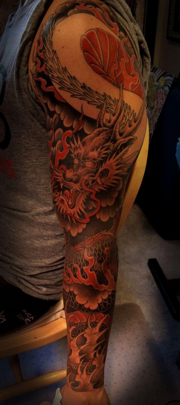 Chris Garver Dragon Tattoo Designs