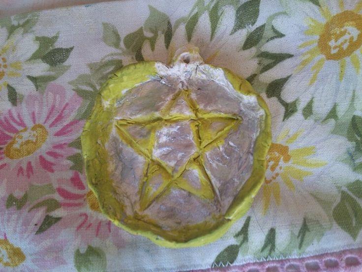 Escultura/ colgante Pentáculo Wicca a 3 €