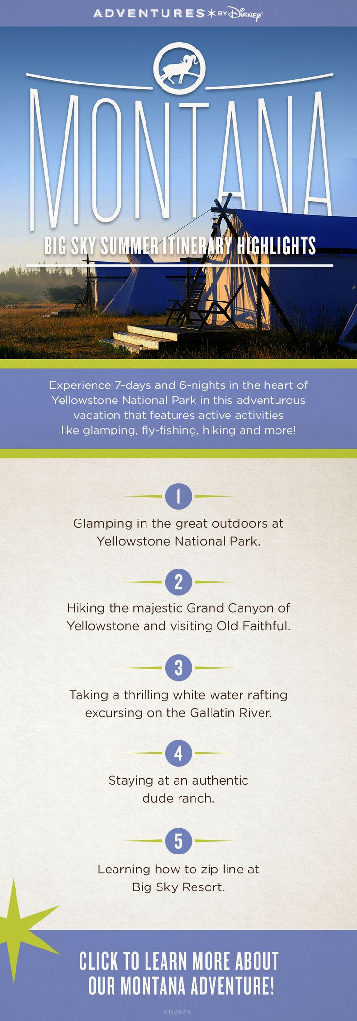 Witness the natural wonders of the Old West on our Montana and Yellowstone National Park vacation!
