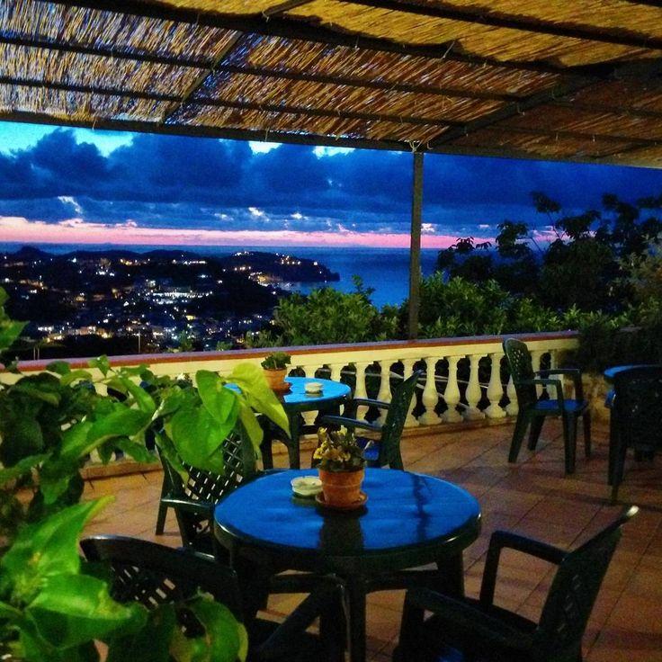#aperitivotime on the terrace at Hotel Ape Regina // Ischia Italy