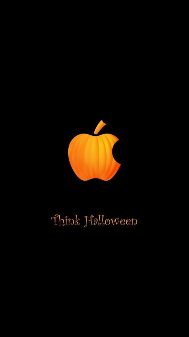 Think Halloween   #wallpapers #iphone