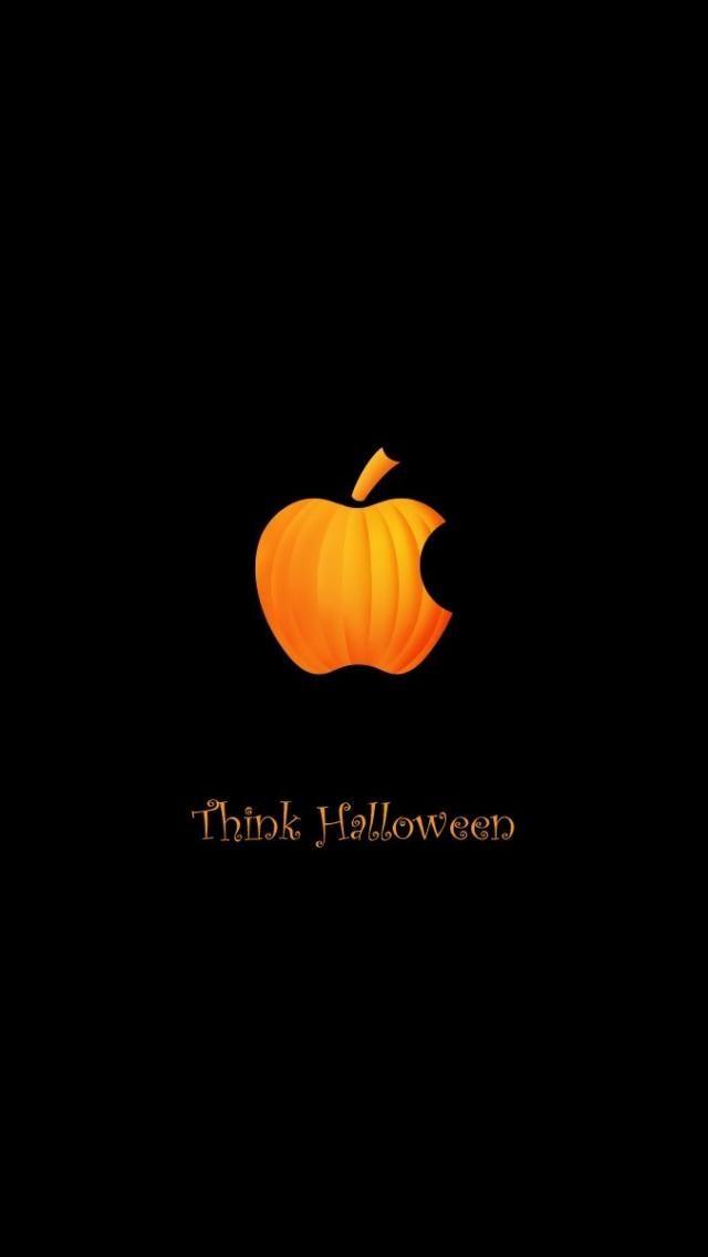 think halloween wallpapers iphone apple pinterest