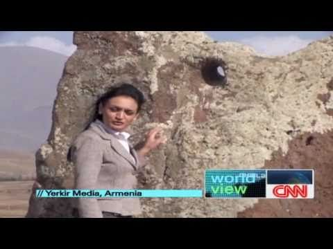CNN International Explores the Secrets of Armenia's Stone Henge - 7,500 year old Karahung (much older than Stonehenge) was a learning center and Armenians settled Britain. - A stone circle located high in the highlands of Southern Armenia may in fact be the oldest stone observatory. According to newly started excavations, the Armenian Stonehenge (Karahunj) has a history of 7500 years. It's discovery sparked scientific debate in astronomical and astrological circles.