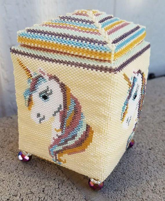 41 Best Box Bead Patterns Images On Pinterest