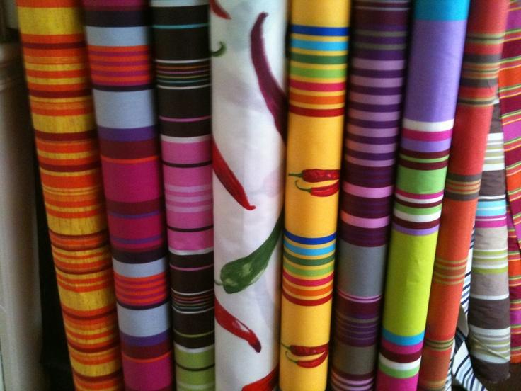Basque linen i found that at st jean de luz in france interior pinteres - Linge basque st jean de luz ...