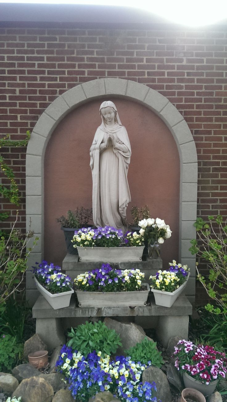 17 best images about a diy mary garden gardens our lady queen of the