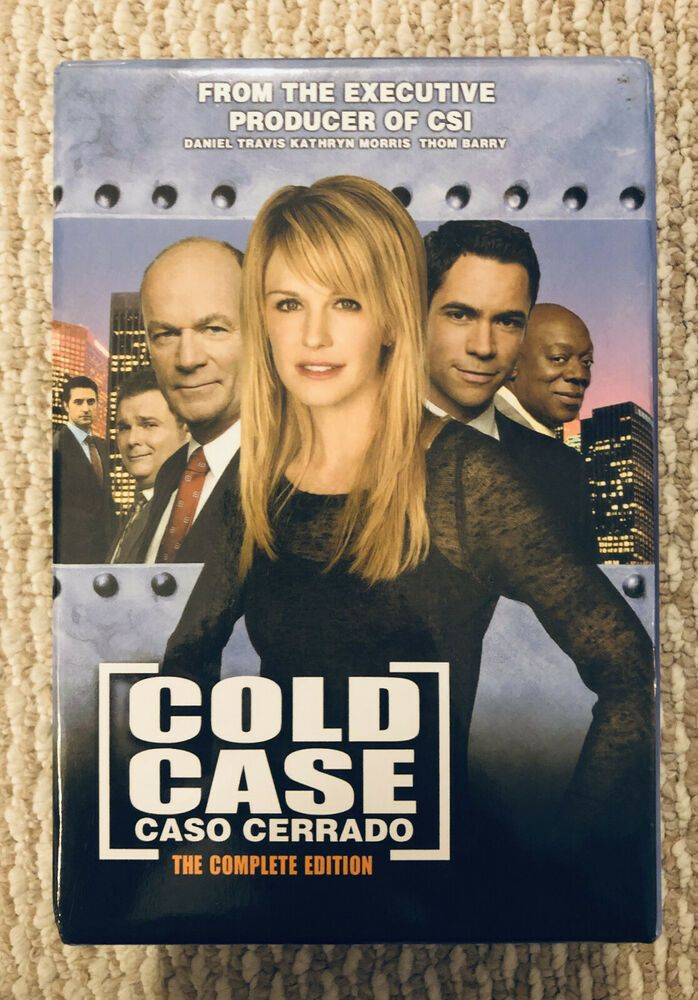 Cold Case Seasons 1 2 3 4 5 6 7 Show Complete Series 44 Disc