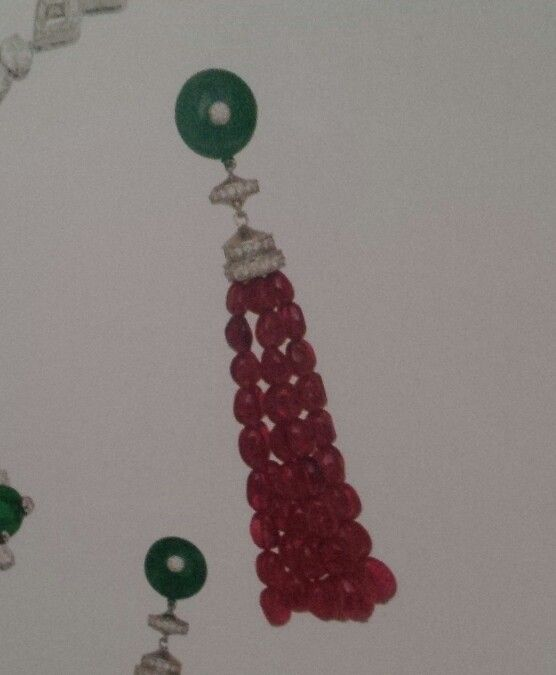 Earrings: idea for (this is by Bulgari)