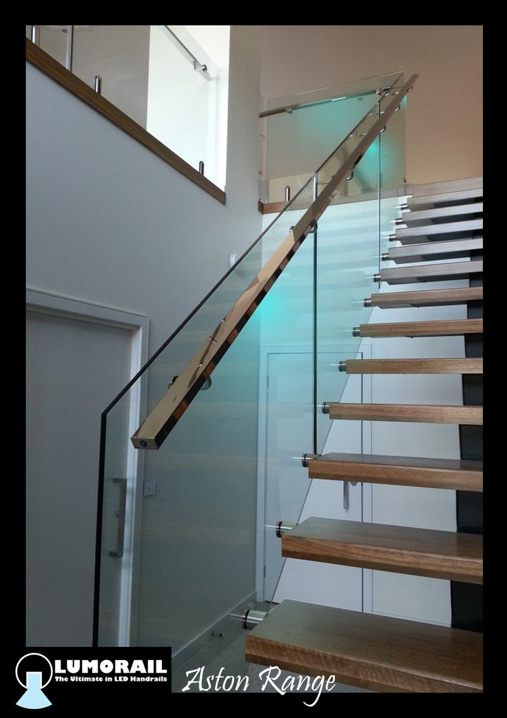 Our illuminated LED handrail 'The Aston' A Stainless Steel handrail with a modular light fitting containing 6 LEDS, specifically designed for handrail applications,This is available in a range of handrail profiles and sizes. www.lumorail.com.au for more. info#LEDHandrail