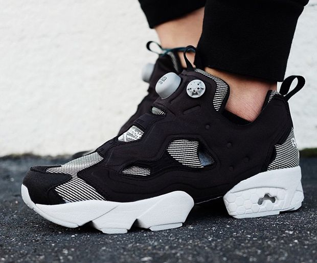 "#Reebok Insta Pump Fury Tech ""Steel"" #sneakers"