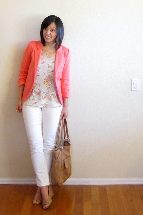 pink blazer for summer