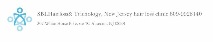 SBLHairloss& Trichology, New Jersey hair loss clinic 609-9928140 - 307 White Horse Pike, ste 1C Absecon, NJ 08201