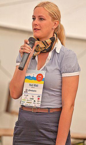 Vår härliga tågvärdinna Heidi Wold! #sswc