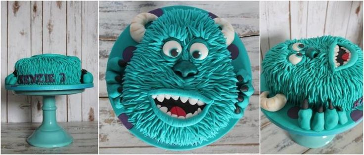 Monster Inc Sully cake - Cake by Sylwia
