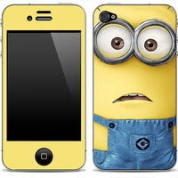 #Michelle Kuntz #Kaya Engen    look its a Despicable Me 1 iPhone Skin FREE SHIPPING