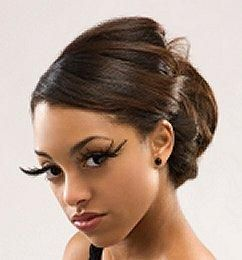 black hair updo hairstyles - Google Search