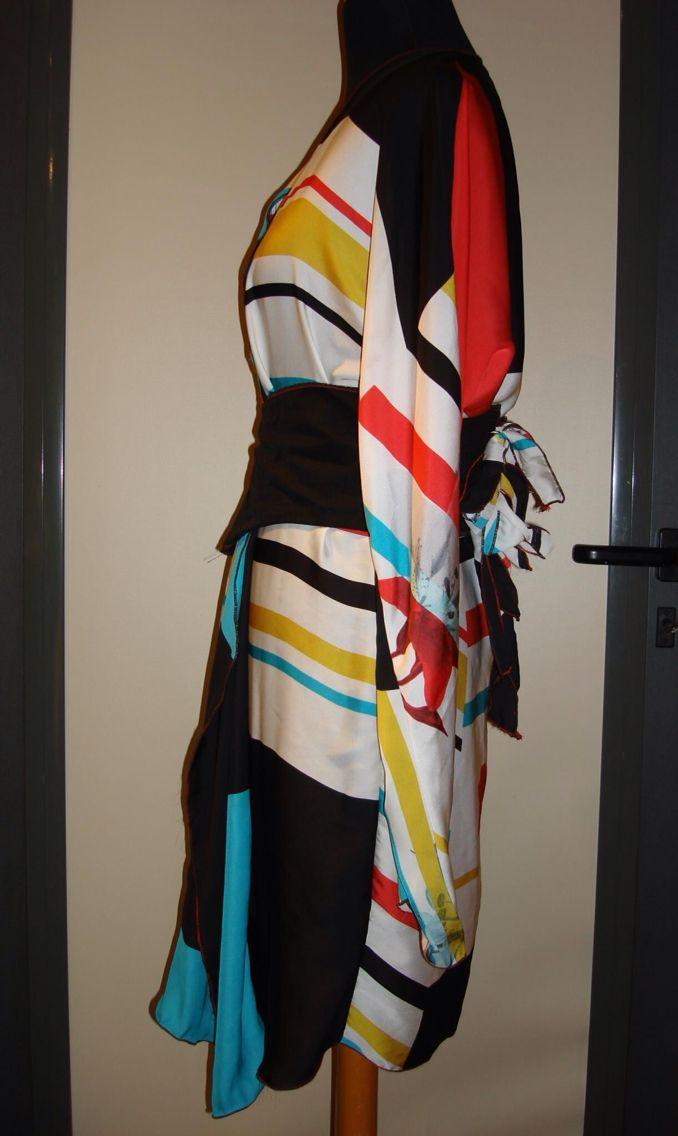Kimono inspired side